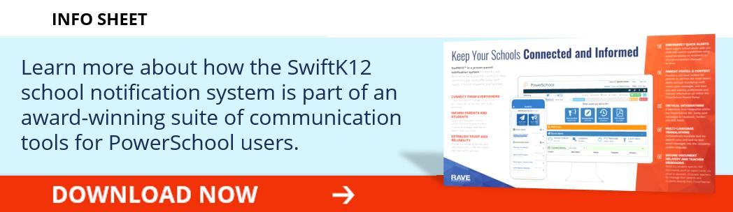 SwiftK12 School Notification System for PowerSchool Users