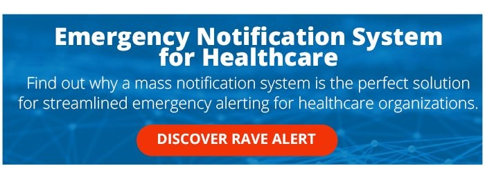 Universal - Product Rave Alert Healthcare