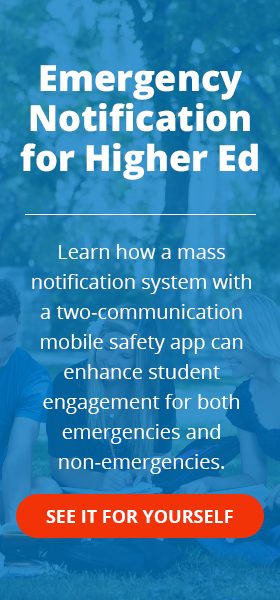 Higher Ed Mass Notification Two Way App