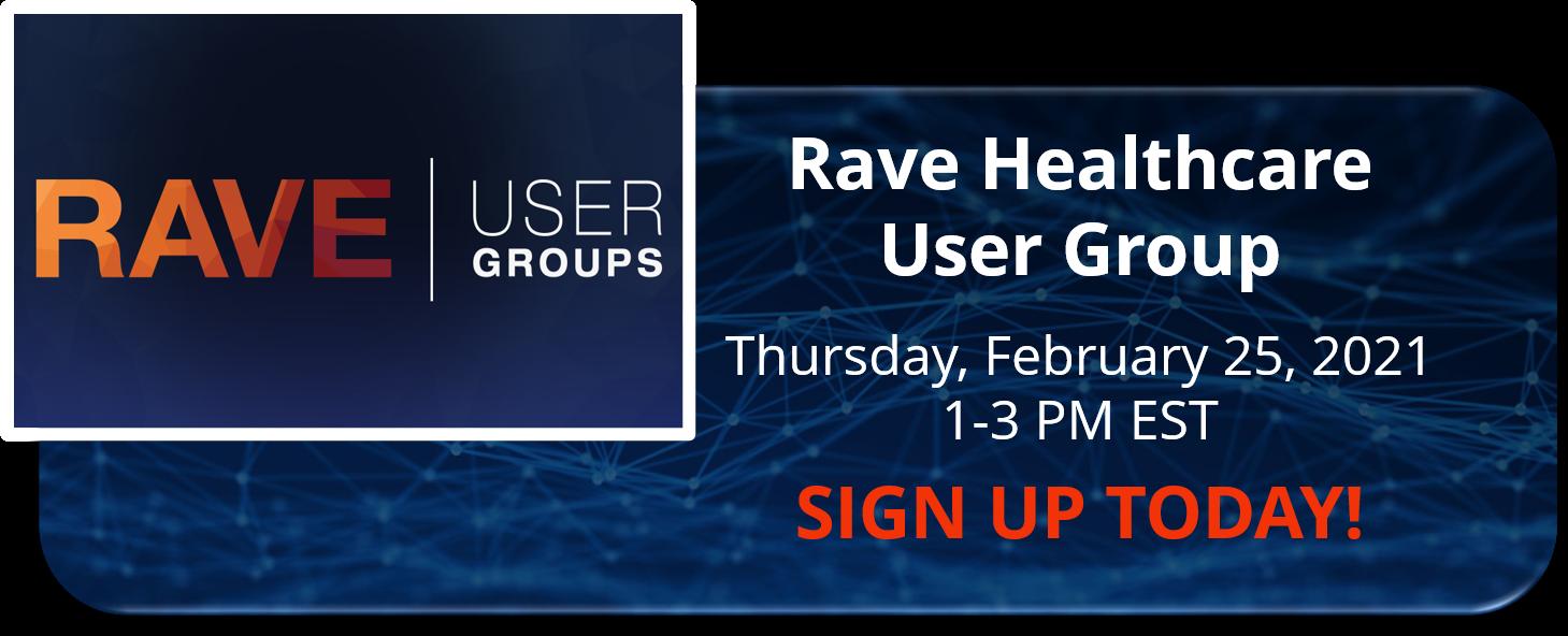 HealthCare User Group q1 2021 CTA
