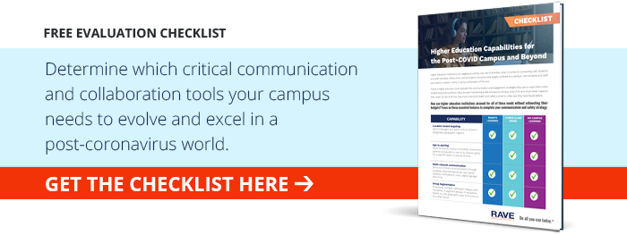 campus communication tools checklist