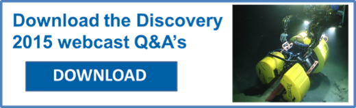 Download the Discovery 2015 webcast Q&A's