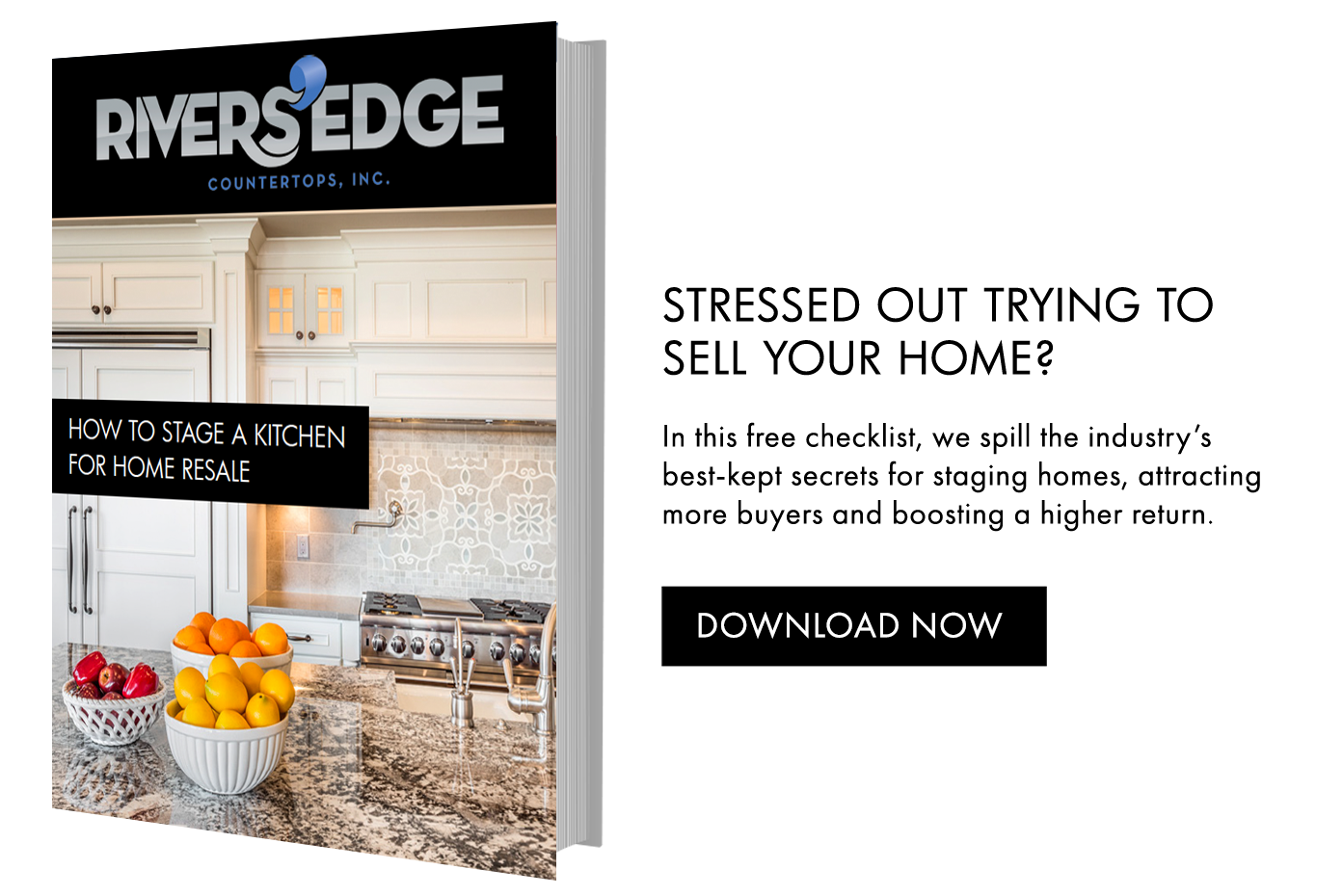 How to Stage a Kitchen for Home Resale
