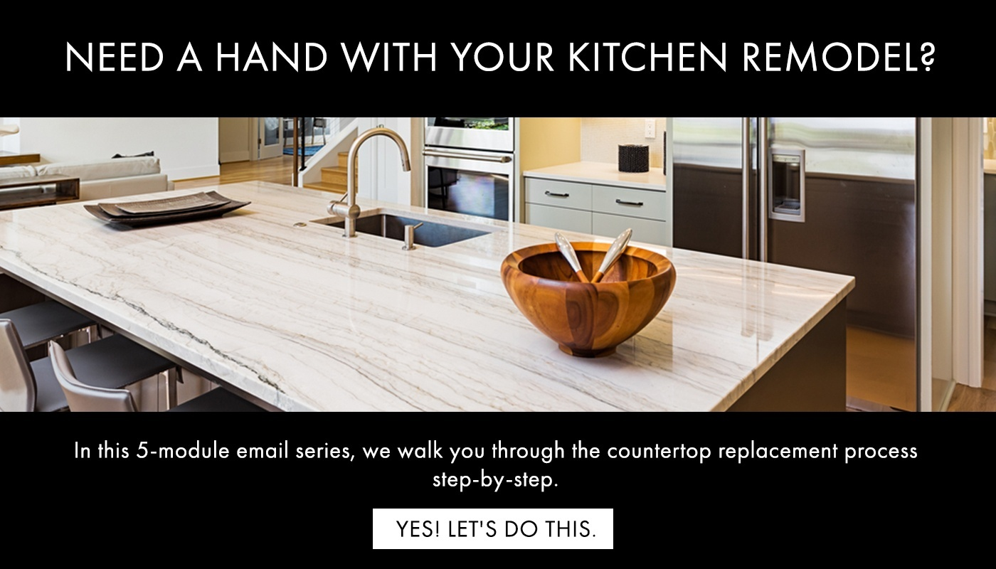 Countertop Replacement Process