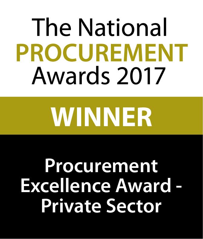 Procurement Excellence Award Winner 2017