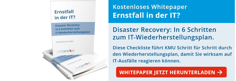 Disaster Recovery: In 6 Schritten zum IT-Wiederherstellungsplan