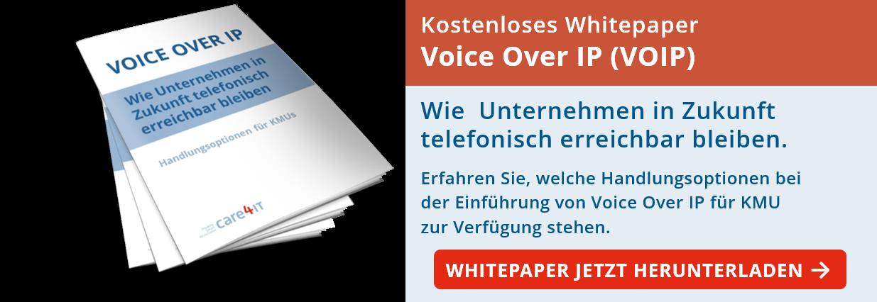 Voice Over IP (VOIP) - Wie Unternehmen in Zukunft telefonisch erreichbar bleiben