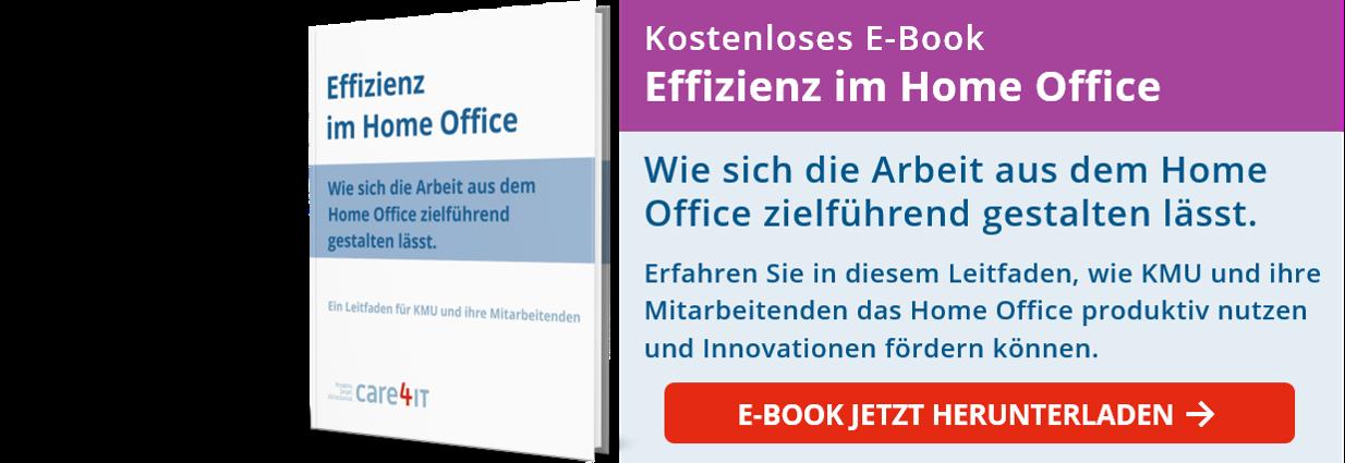 CTA - Effizienz im Home Office