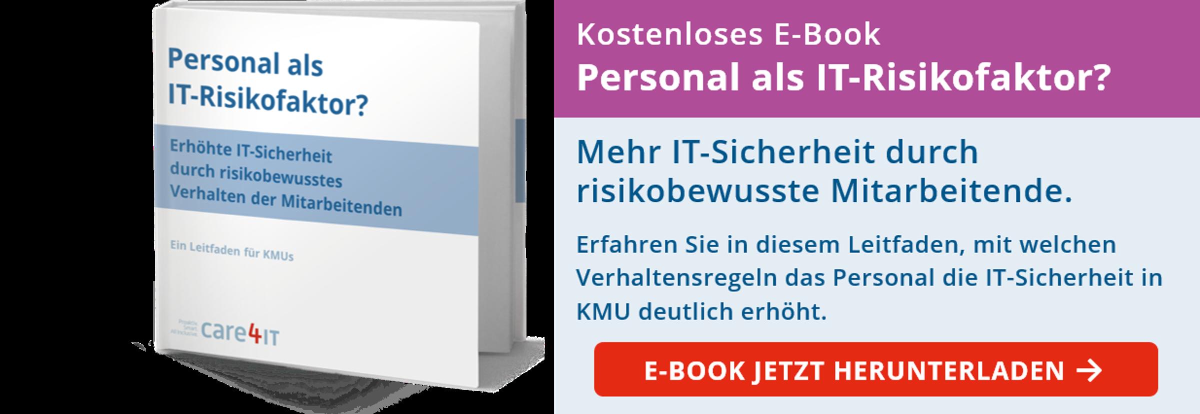 Personal als IT-Risikofaktor: Mehr IT-Sicherheit durch risikobewusste Mitarbeitende