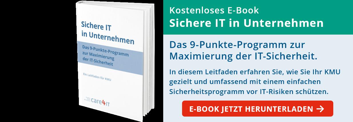 Sichere IT in Unternehmen: Das 9-Punkte-Programm zur Maximierung der IT-Sicherheit in KMU