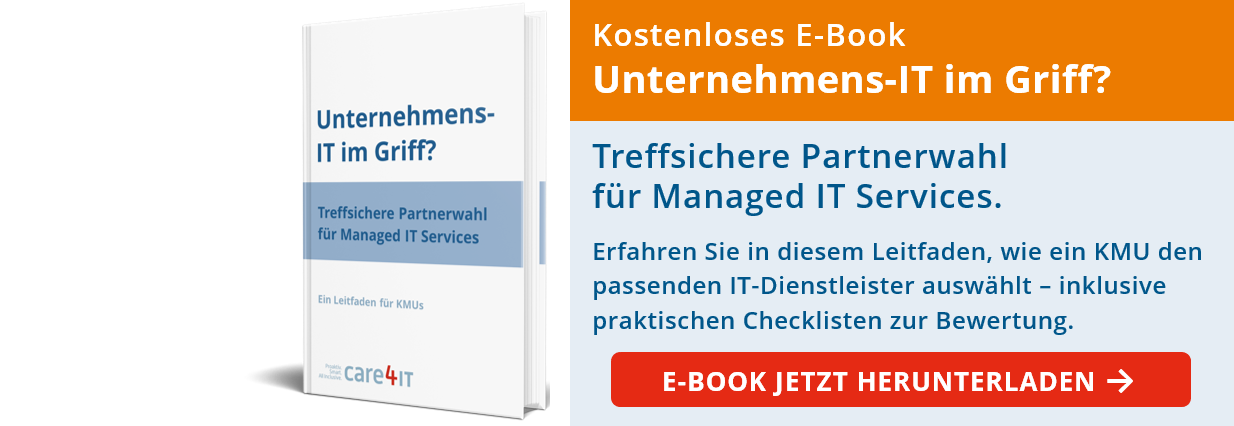 Unternehmens-IT: Treffsichere Partnerwahl für Managed IT Services