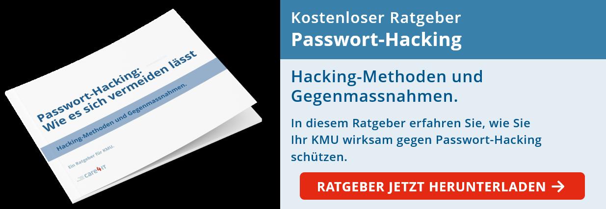 Passwort Hacking: Hacking-Methoden und Gegenmassnahmen für KMU