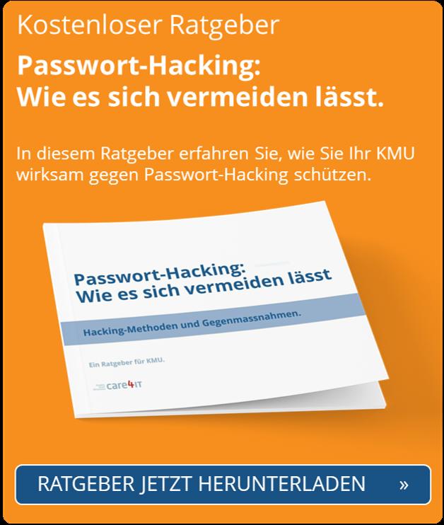 Passwort-Hacking: wie es sich vermeiden lässt   Cyber Security   Zürich