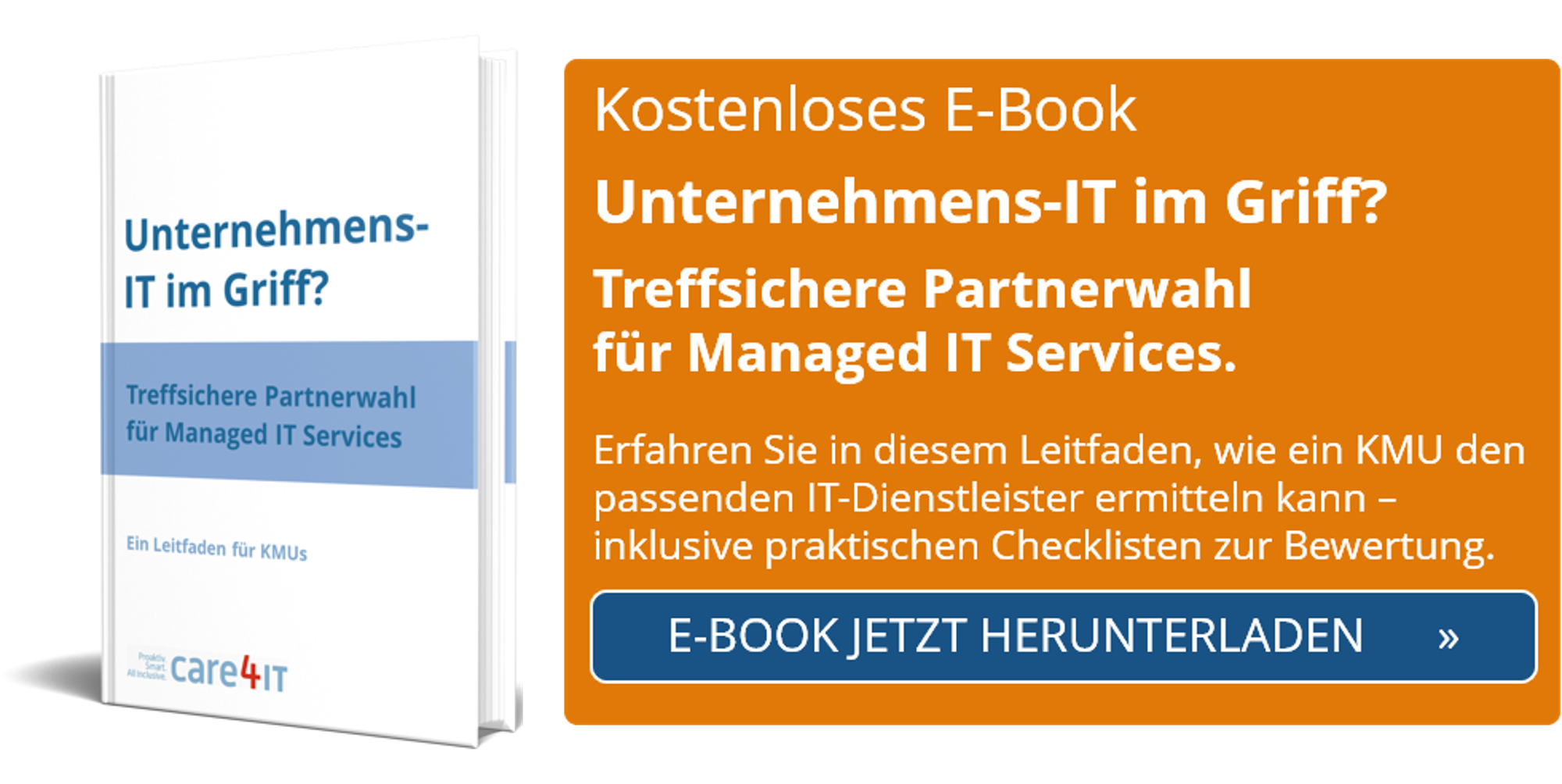 Unternehmens-IT im Griff? Treffsichere Partnerwahl für Managed IT Services bei KMU | Zürich
