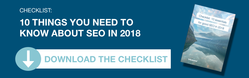 Checklist for seo in 2018