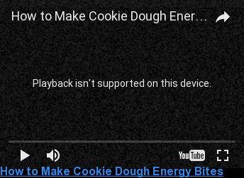How to Make Cookie Dough Energy Bites  <> <> <> <> <> <> <> <> <> <>