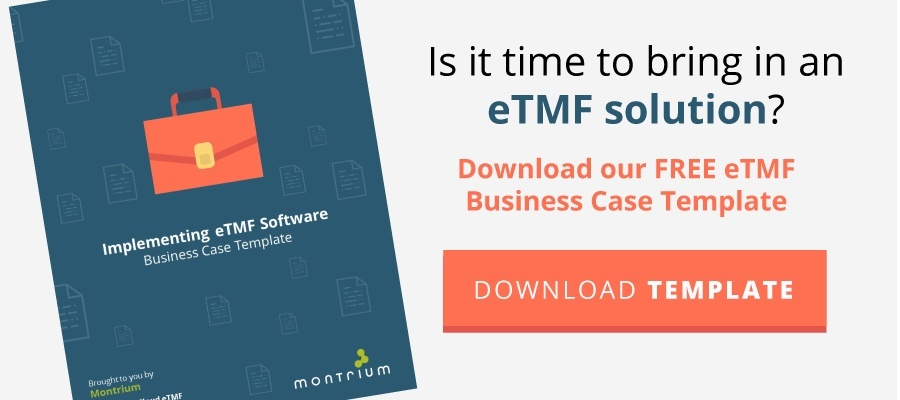 eTMF Business Case Template