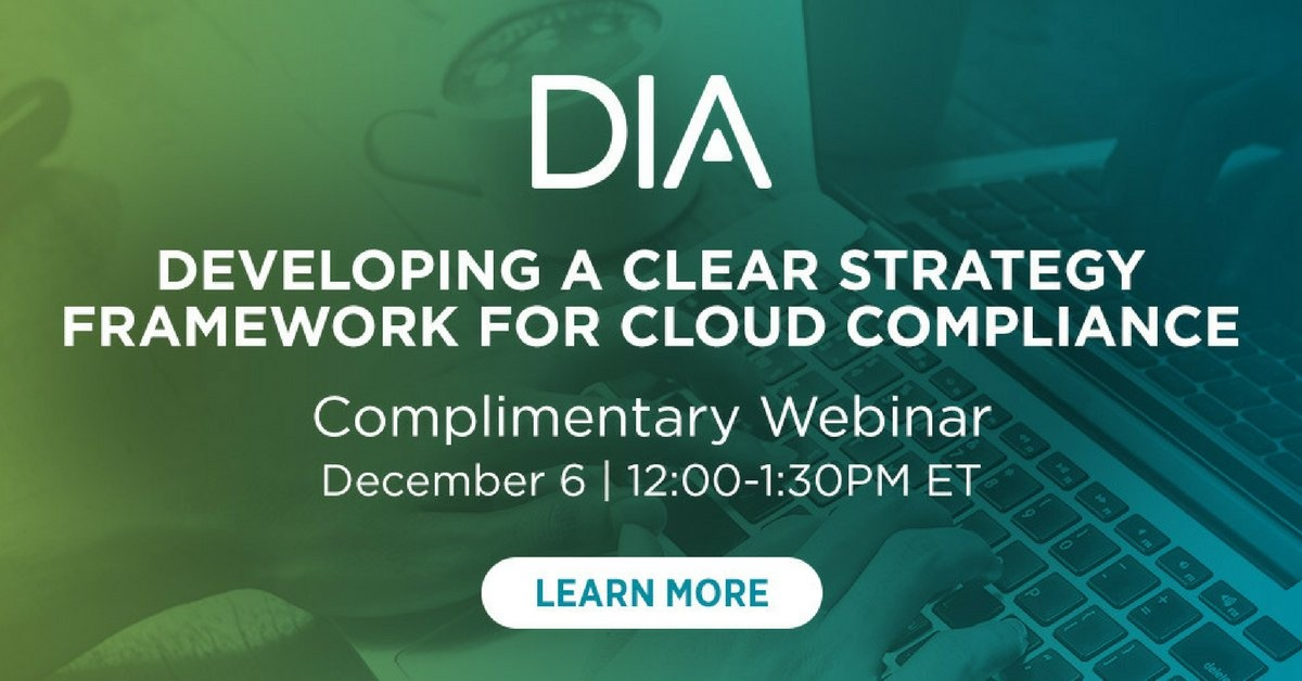 Developing a Clear Strategy and Framework for Cloud complliance
