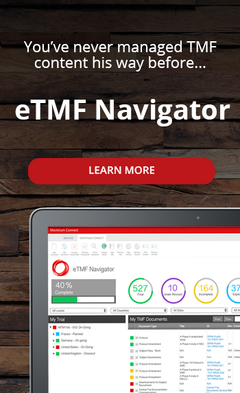 introducing the eTMF Navigator
