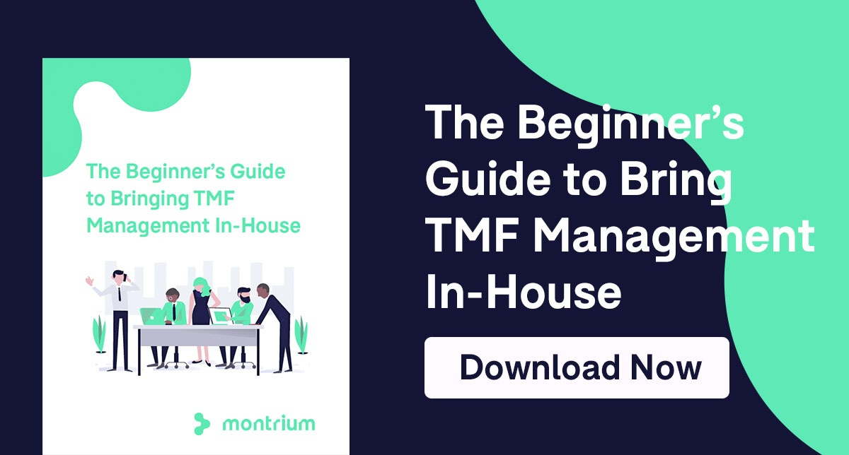 The Beginner's Guide to Bringing TMF Management In-House