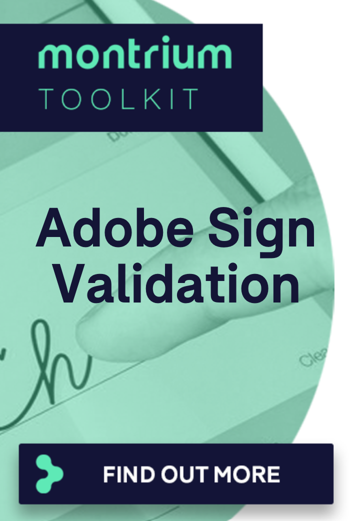 Adobe Sign Validation Services