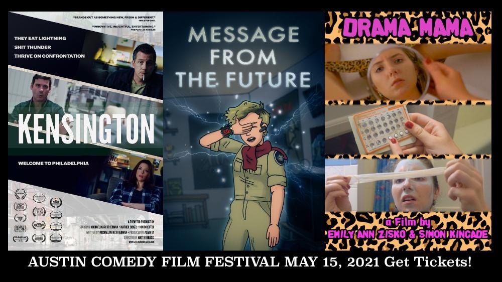 Austin Comedy Film Festival Spring 2021 Day 2 Tickets