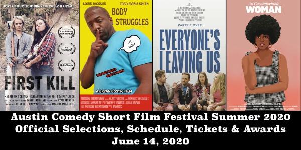 Austin Comedy Short Film Festival Summer 2020 Event