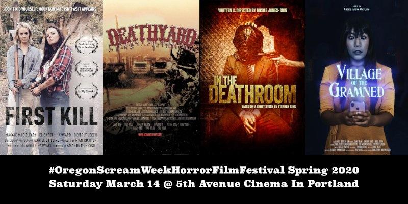 Oregon Scream Week Horror Film Festival Spring 2020