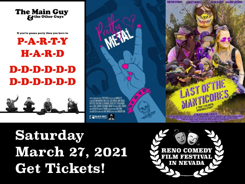 Reno Comedy Film Festiva Event Tickets
