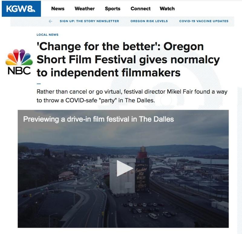 Oregon Short Film Festival on NBC