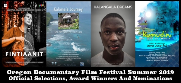 Oregon Documentary Film Festival Summer 2019