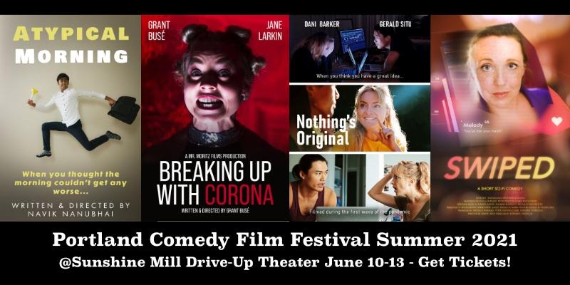 Portland Comedy Film Festival Summer 2021 Event Tickets