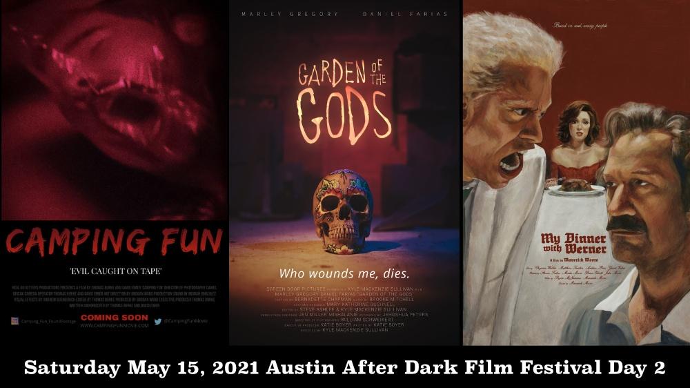 Austin After Dark Film Festival Saturday May 15, 2021