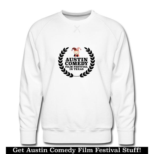 Austin Comedy Film Festival ladies ringer shirt