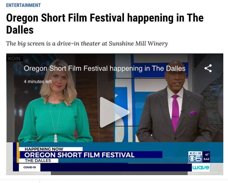 OSFF CBS Koin6 Article
