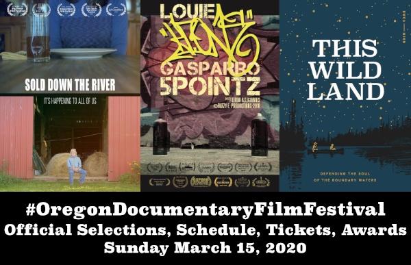 Oregon Documentary Film Festival Spring 2020 Event