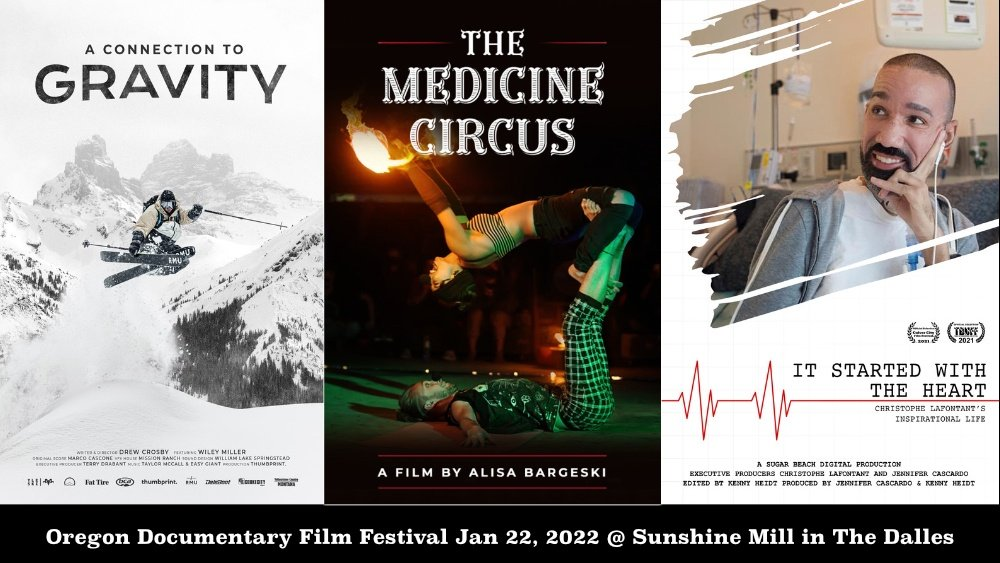 Oregon Documentary Film Festival Winter 2021 Event