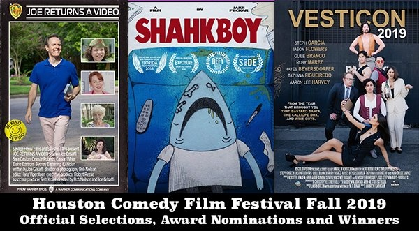 Houston Comedy Film Festival Fall 2019 Event