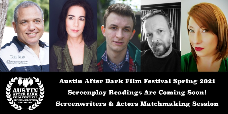 Austin After Dark Film Festival Spring 2021 Screenplay Readings