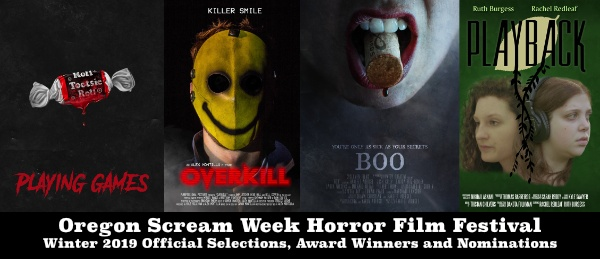 Oregon Scream Week Horror Film Festival Winter 2019