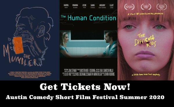 Austin Comedy Short Film Festival Summer 2020 Event Tickets