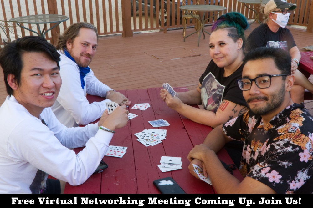 Networking Meeting For Screenwriters And Filmmakers