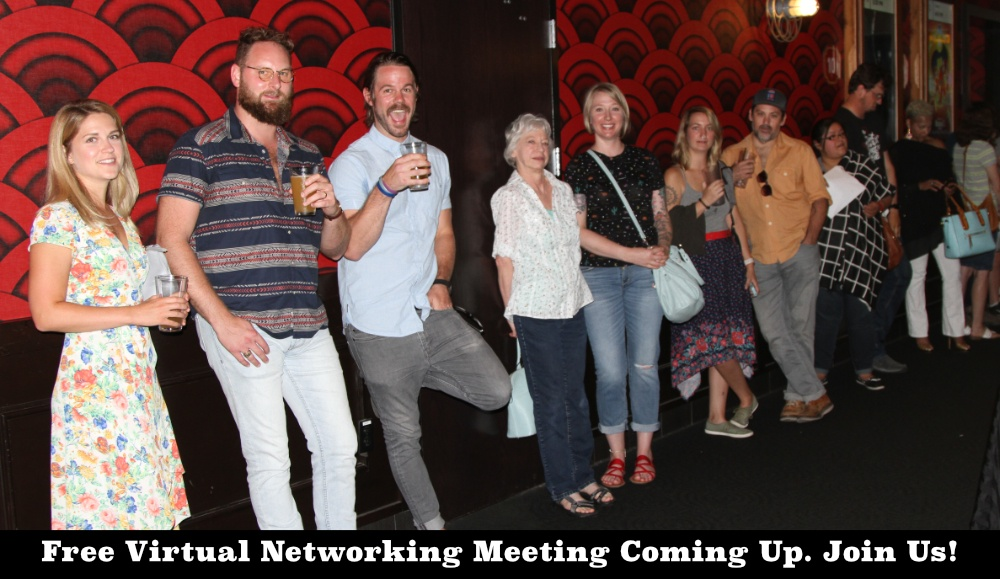 Free Virtual Networking Meeting For Filmmakers And Screenwriters.