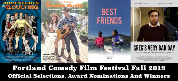 Portland Comedy Film Festival Fall 2019