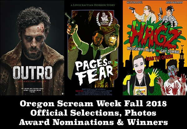 Oregon Scream Week Fall 2018 Official Selections & Schedule - Click Here -
