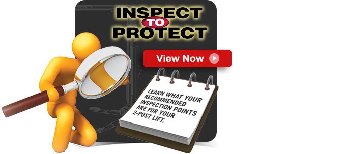 Inspect To Protect - 2-Post