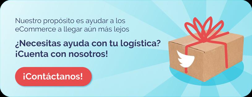 necesitas ayuda con tu logistica. contacta a shipit
