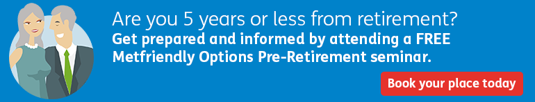 Register for a free Pre-Retirement Seminar