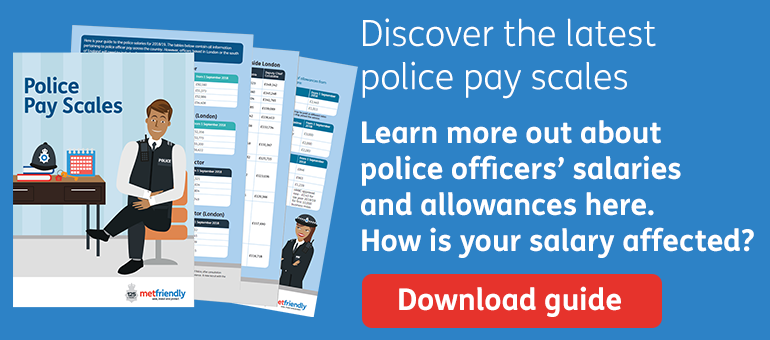 Discover the latest police pay scales
