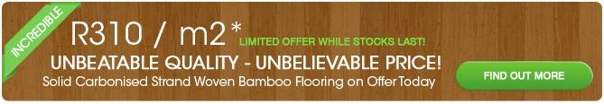 Bamboo Warehouse Flooring Deal